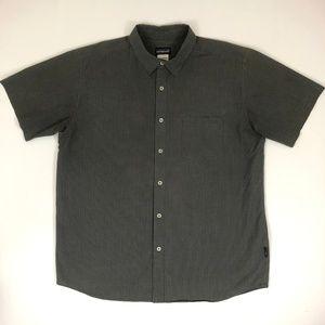 Patagonia Striped Short Sleeve Polo Shirt